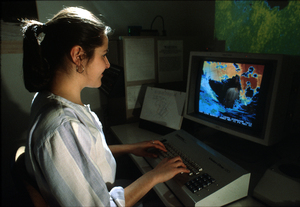 Enhancing Images Showing Ocean Temperatures
