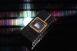 An Infrared CCD Chip