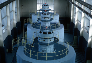 Liapotah Hydroelectric Power Station turbines