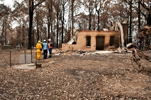 Conducting bushfire research at Kinglake after the 'Black Saturday' bushfires