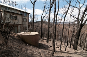 A property at Strathewen that survived the 'Black Saturday' bushfires