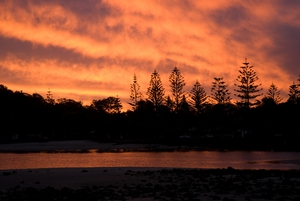 Sunset  – Tallebudgera, Queensland