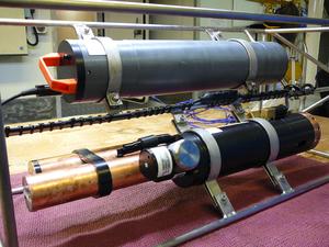 A deep-sea recorder on the RV Southern Surveyor