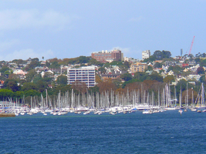 Rushcutter's Bay, Sydney, New South Wales