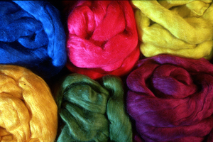 Dyed Wools