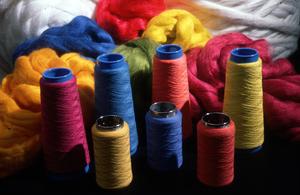 Dyed Wool Reels