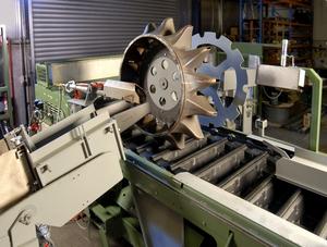 The CASTfill spout wheel - CSIRO Science Image - CSIRO
