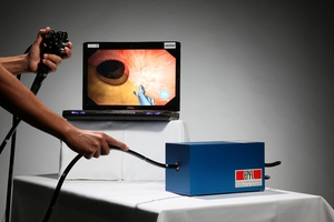 CSIRO's colonoscopy simulator, developed using the latest computer gaming technology