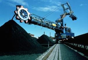 A Coal Dredge