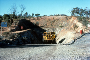 Ore Truck at the Silver Swan Nickel Mine