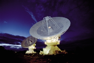 Radio Telescope Dishes at Narrabri