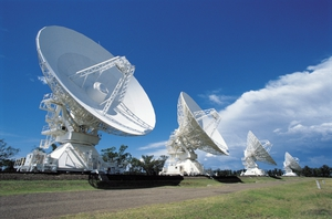 Radio Telescopes at Narrabri