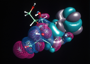 Molecular Model of a Chemical Compound