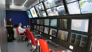 Mobile control centre (SAMMI)
