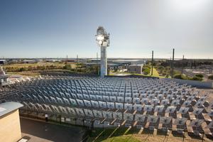 Solar Array at the CSIRO Energy Centre