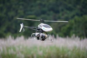 UAV in flight