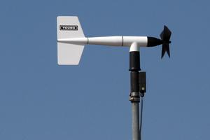 Earth receiving station satellite dish, Droughty Point, Hobart, Tasmania
