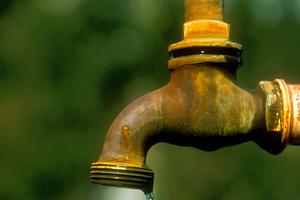 Dripping tap, Perth. WA. 1975.