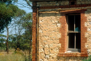 Abandoned farmhouse near Pinnaroo, SA. 1993.