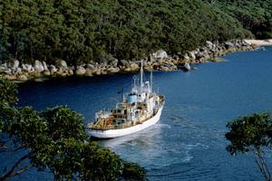 CSIRO Research vessel Sprightly