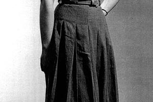 A Wrinkled Skirt