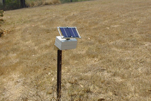 A remote sensing node – part of CSIRO's Fleck wireless sensor network technology