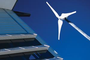 Wind-powered turbine
