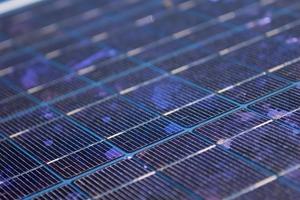 Solar panel at the CSIRO Energy Centre, Newcastle