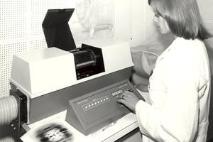 Margot Colquitt using Photoscan equipment