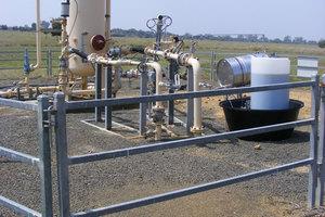 A coal seam gas well