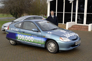ultrabattery car hits 100,000 miles
