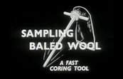 Sampling Baled Wool - A Fast Coring Tool